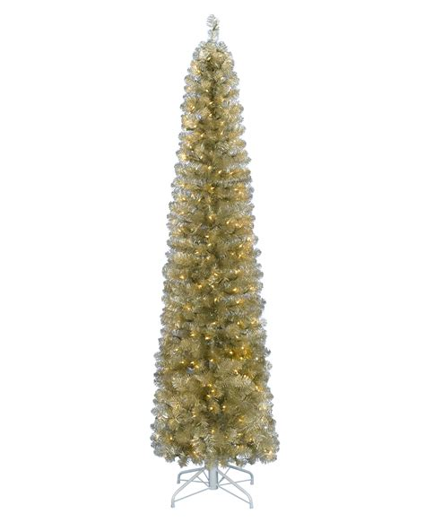 all that glitters artificial pencil christmas tree treetopia