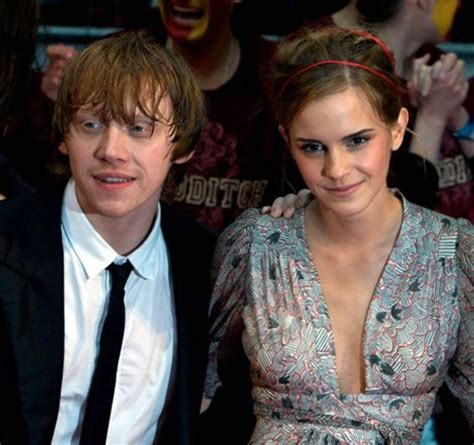 emma watson and rupert grint engaged emma and rupert rupert grint and emma watson photo