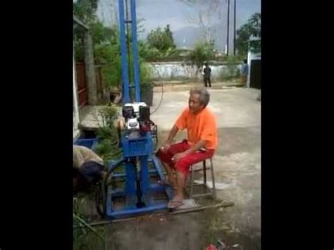 Mesin Bor Air Tanah Portable test mesin bor vertikal