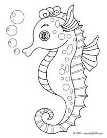 seahorse coloring page seahorse coloring pages hellokids