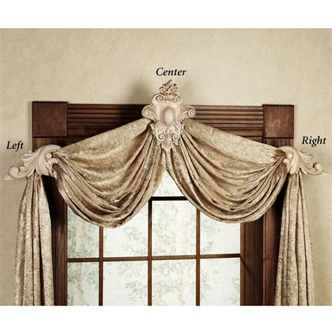 drapery swag holders swag curtain sconces decoration to make window