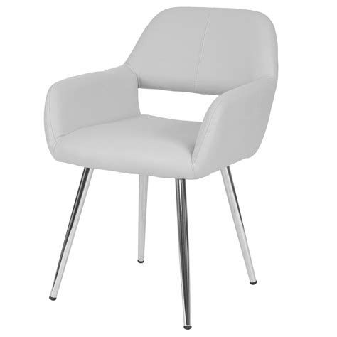weisse esszimmerstühle mit armlehne esszimmerstuhl wei 223 kunstleder bestseller shop f 252 r m 246 bel