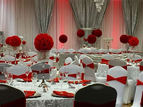themes red rose diamonds roses quincea 241 era party ideas photo 5 of 17