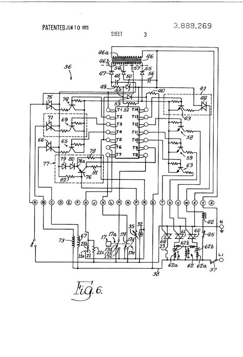 patent us3888269 system for dishwasher