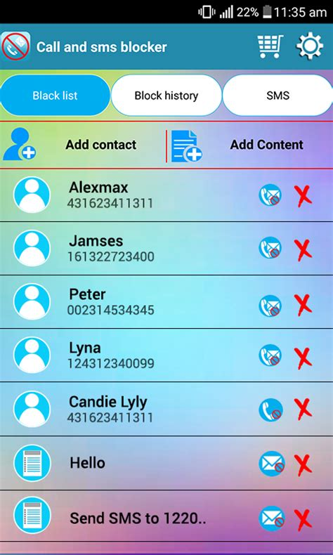 sms blocker for android sms blocker call blocker 1 15 2273 apk android communication apps