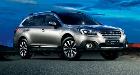 subaru boxer engine turbo subaru outback debuts in china with 2 0l turbo boxer engine
