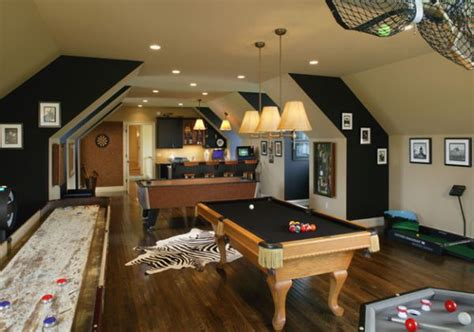 turn garage into game room large and beautiful photos indulge your playful spirit with these game room ideas