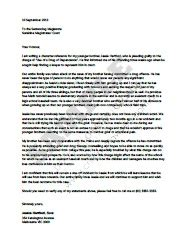 Character Reference Letter For Court Qld Character Reference Letter For Court And Templates