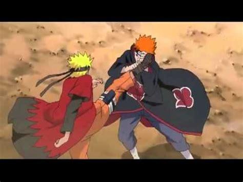 naruto amv hero kakashi naruto vs pain amv hero skillet youtube