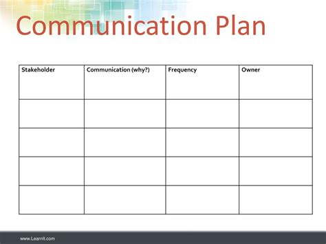 Communication And Stakeholder Engagement Plan Template Sle Analysis Project Business Letters Communication And Engagement Strategy Template