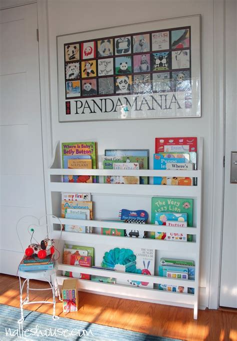 Nalle S House Diy Nursery Bookshelf N A L L E S H O U Bookshelves For Nursery