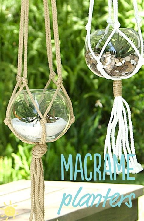 Make Plant Hanger - 25 best ideas about macrame plant hangers on