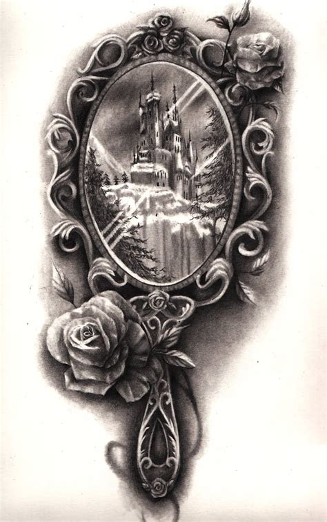 mirror tattoo design mirror design tattoos