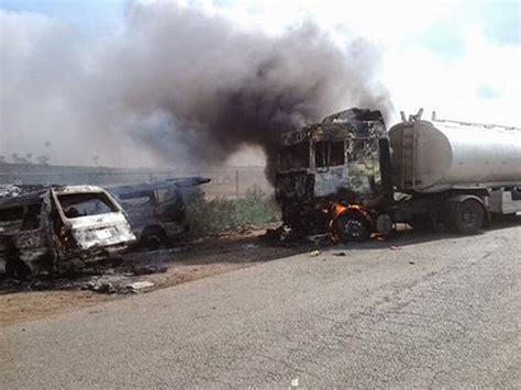 express road 3 dead scores injured in lagos ibadan expressway