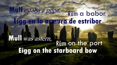 boat song lyrics in english outlander theme skye boat song full completa english
