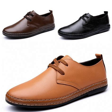 new european style leather shoes s oxfords casual dress shoes size 6 5 10 ebay