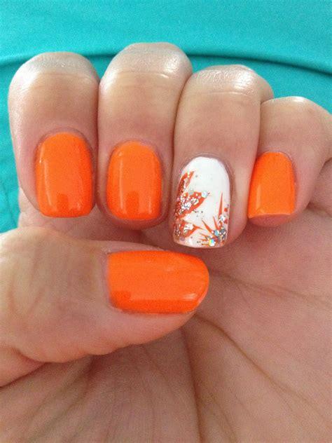 number 1 summer nails summer nails 2014 orange www pixshark com images