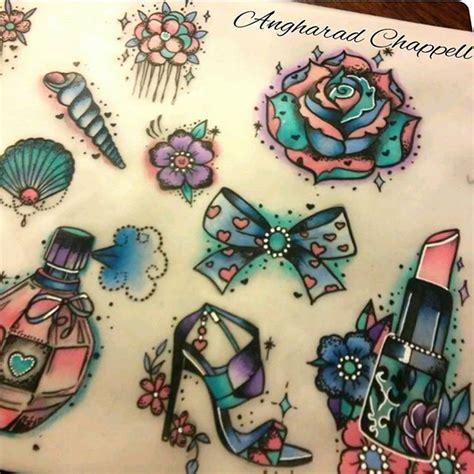 tattoo old school girly girly tattoo flash www pixshark com images galleries