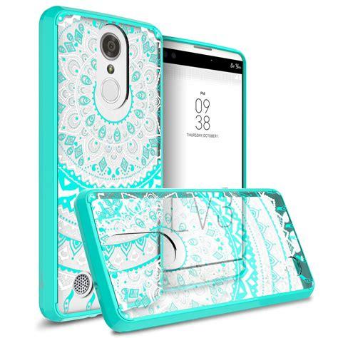 for lg k8 2017 aristo lv3 back soft bumper hybrid slim phone cover ebay