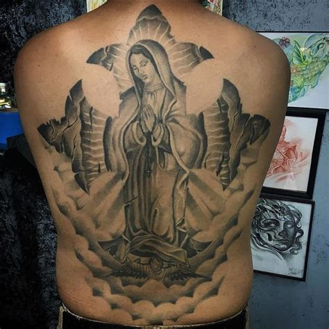 20 tattoos that pay respect to la virgen de guadalupe vivala