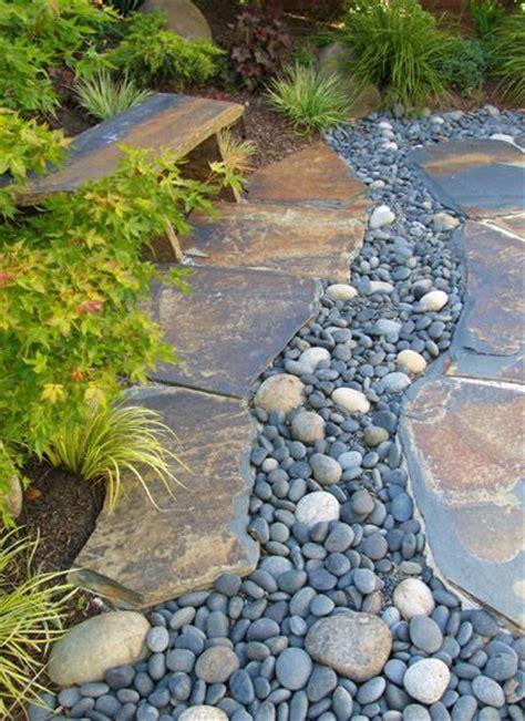 River Rock Gardens 25 Best Ideas About River Rock Gardens On Pinterest Backyard Garden Landscape Gardening And