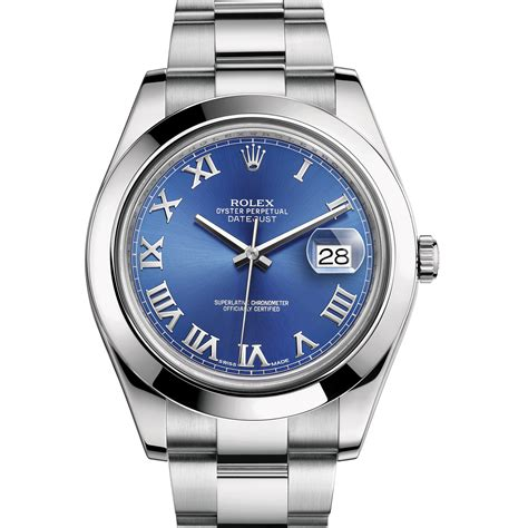Rolex Oyster Perpetual Datejust 41 116300 rolex datejust ii 116300 stainless steel blue