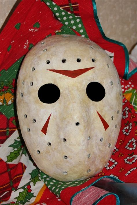 How To Make A Jason Mask Out Of Paper - jason mask friday 13