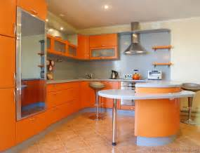 orange kitchen ideas pictures of kitchens modern orange kitchens kitchen 7