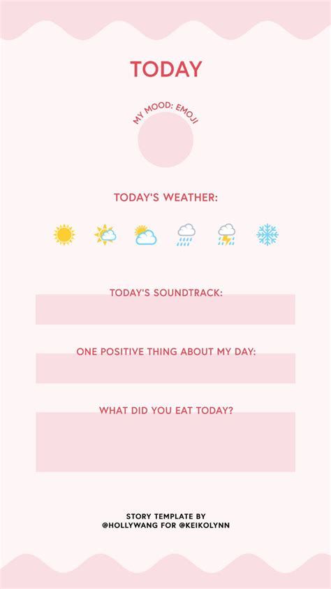 20 Best Instagram Stories Templates Images On Pinterest Instagram Story Template Questionnaire