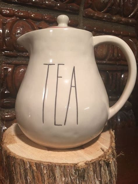 still available rae dunn quotteaquot teapot from boutique