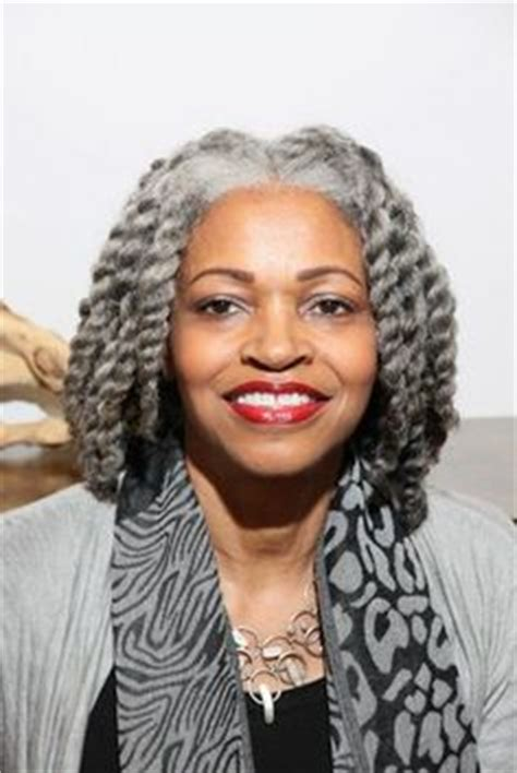 beautiful twist styles for older women grey hair for woman over 50 on pinterest gray hair grey