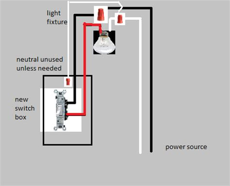 electrical how do i connect a light to a switch when the