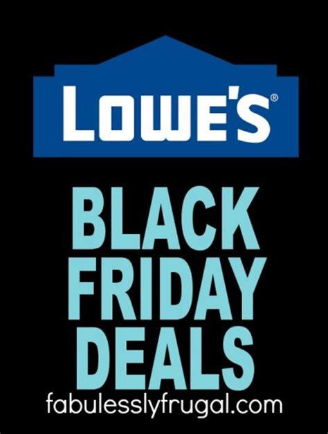 lowes pre black friday sale