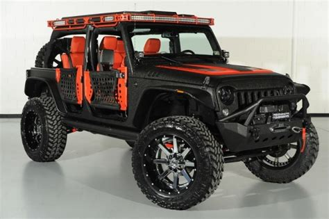 jeep custom black black jeep wrangler unlimited starwood custom
