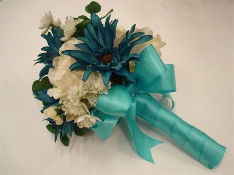 teal and ivory wedding ideas 17 best ideas about teal wedding bouquet on