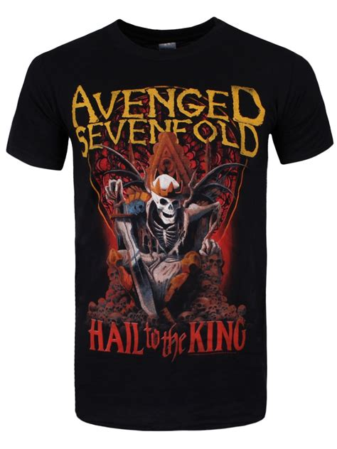 Kaos Band Avenged Sevenfold Merchendise Official 15 avenged sevenfold new day s black t shirt buy at grindstore