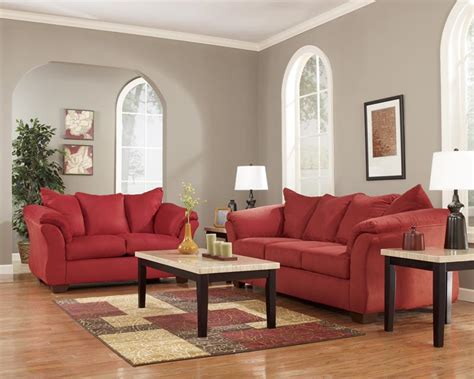 living room packages ashley darcy salsa 7 piece living room package appliance