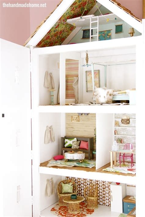 The Handmade Home - the dollhouse diaries floors windows walls the