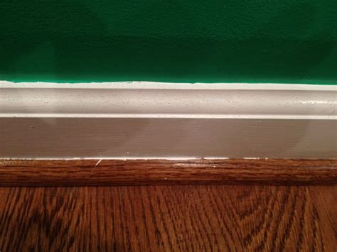 baseboard painting geeky girl engineer