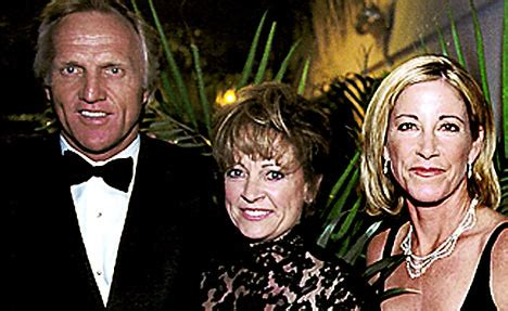 golf greg norman cuts up s credit cards in
