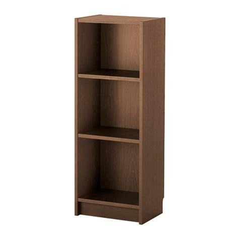 Brown Bookshelves Billy Bookcase Brown Ash Veneer Ikea