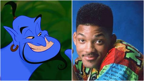 Will Smith Now Cemented In by Will Smith Is In The Running To Voice The Genie In Disney