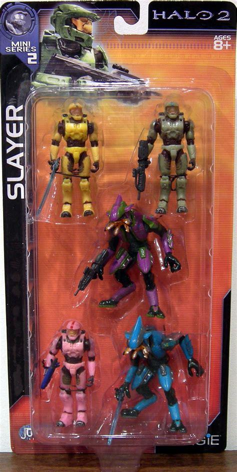 halo 2 figures slayer 5 pack halo 2 mini series 2