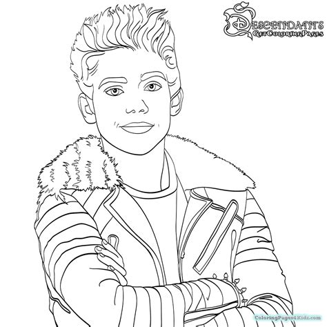 coloring pages of disney descendants disney descendants free coloring pages coloring pages