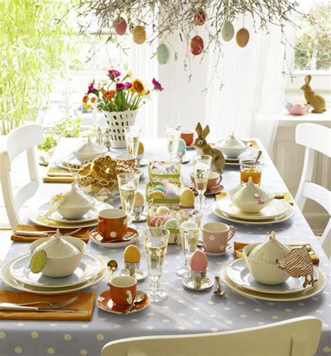 Table Decor by 25 Easter Ideas For Table Decoration