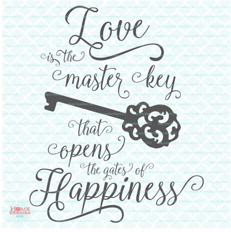 Wedding Quotes Key by Wedding Quote Svg Is The Master Key Cut