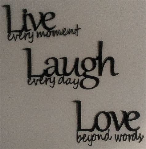 live laugh wall decor live laugh metal wall black