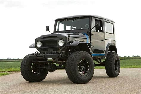 There S A Chevy V8 This Toyota Land Cruiser Brute