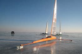 ice boat graphics don t look for ice boating at the vancouver games wsj
