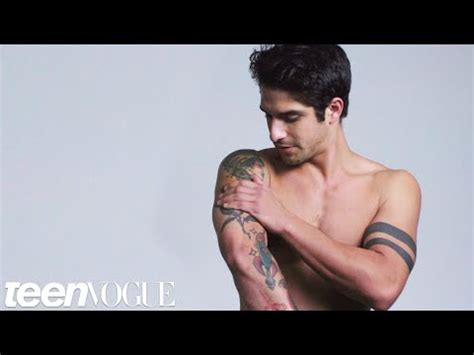 tyler posey tattoo wolf s posey explains his tattoos vogue